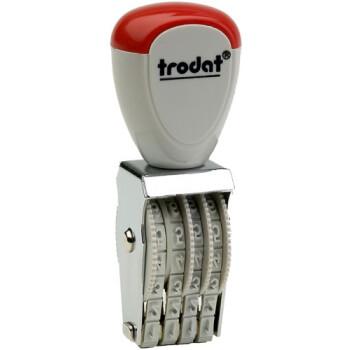 Σφραγίδα Trodat Classic 1534 Αρίθμησης 4 αριθμών με ύψος ψηφίου 0.3cm και μήκος σφραγίδας 1.4cm